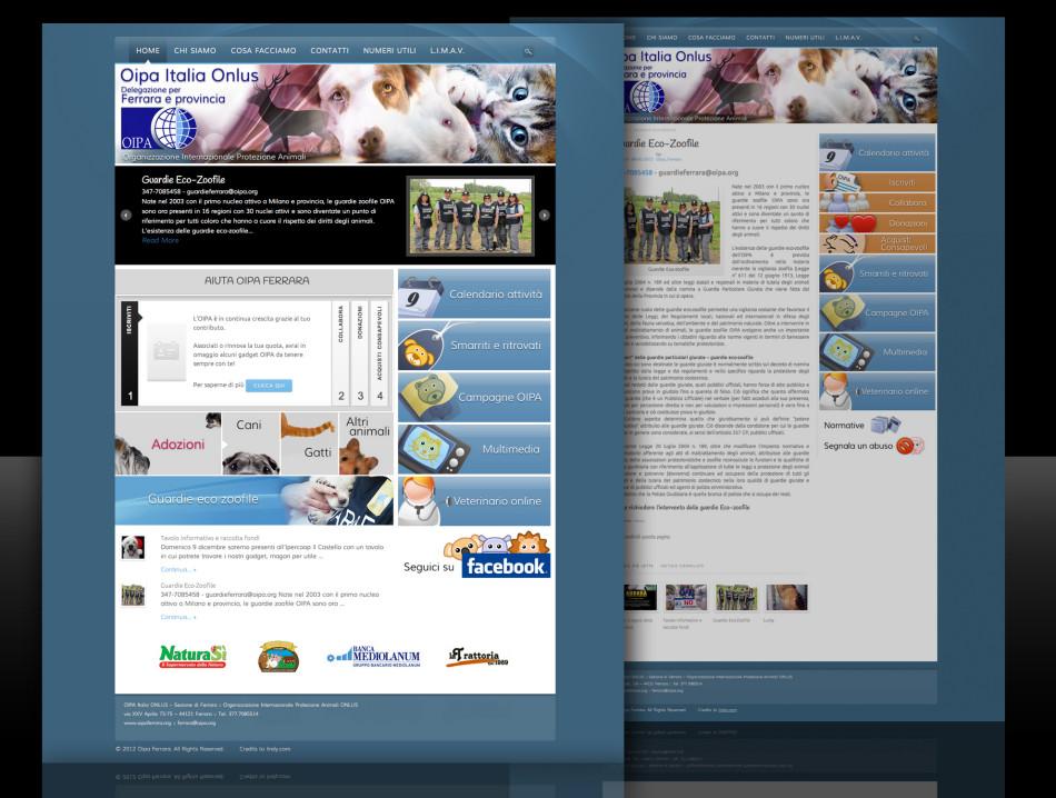 Sito web Oipa Ferrara