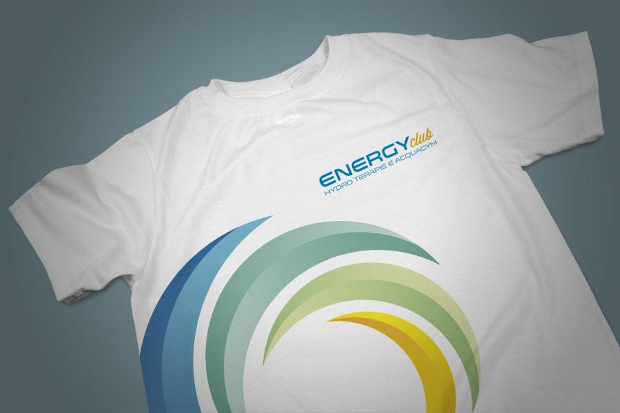 realizzazione grafica t-shirt per piscina