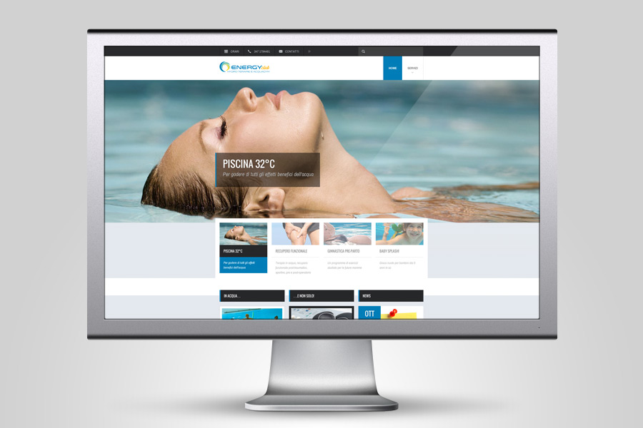 Realizzazione sito web piscina