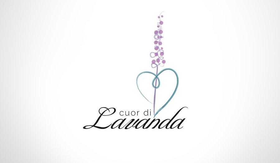 Cuor di Lavanda: Logo